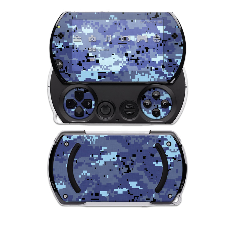 Digital Sky Camo Sony PSP go Skin