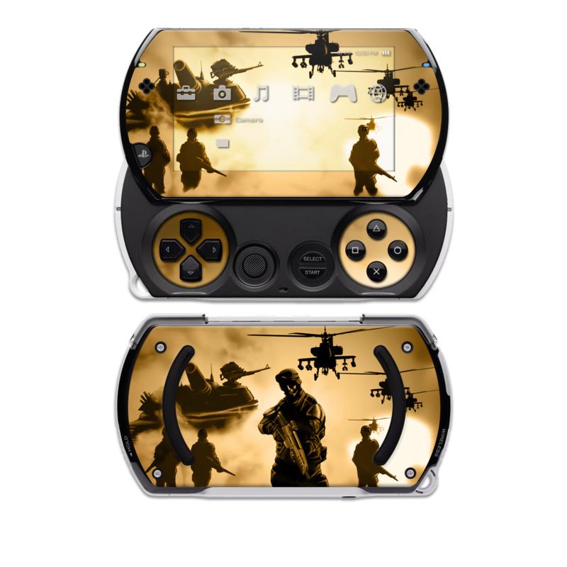 Desert Ops PSP go Skin
