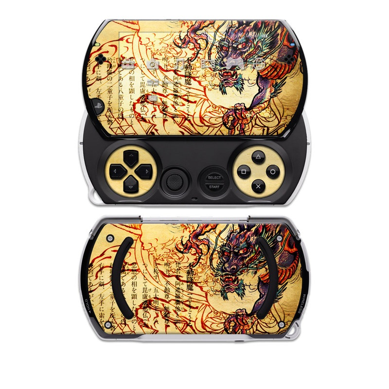 Dragon Legend PSP go Skin
