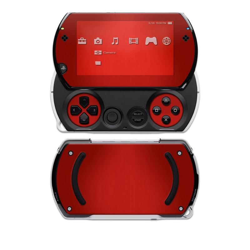 Red Burst PSP go Skin