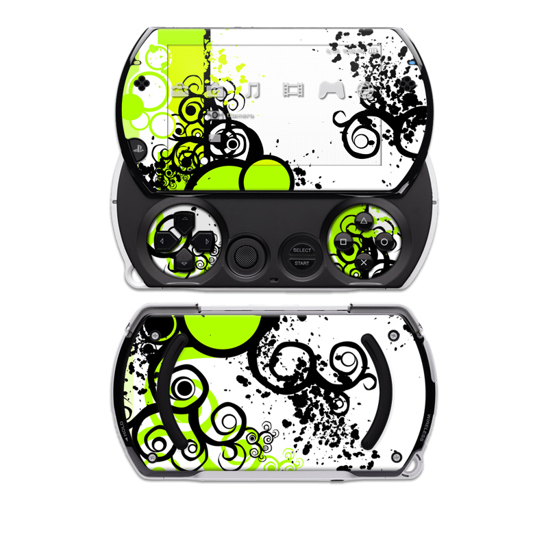 Simply Green Sony PSP go Skin