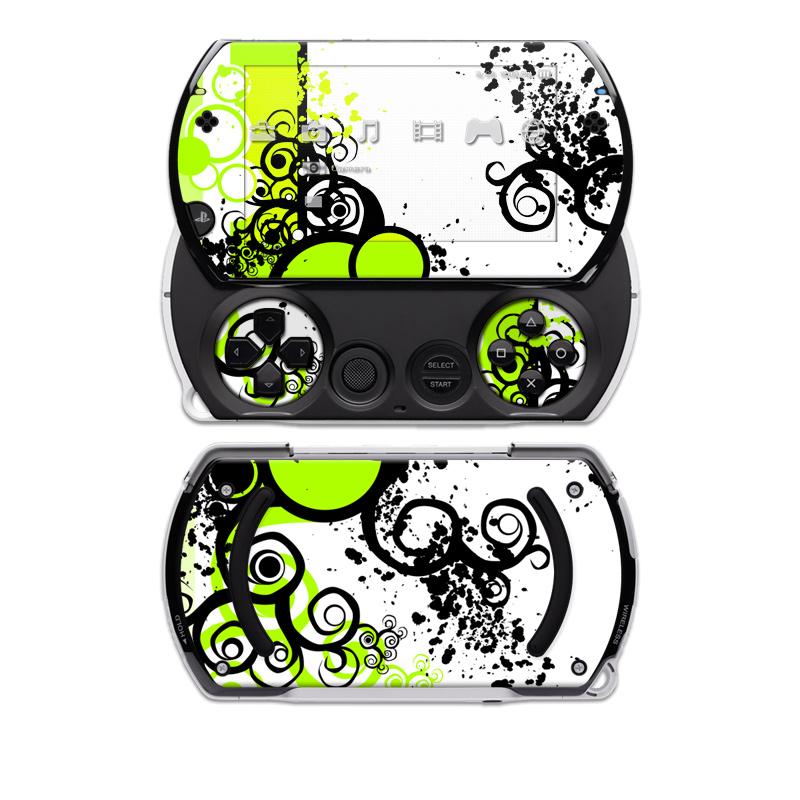 Simply Green Sony PSP go Skin