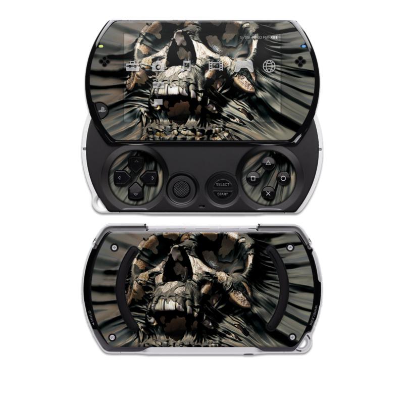Skull Wrap PSP go Skin