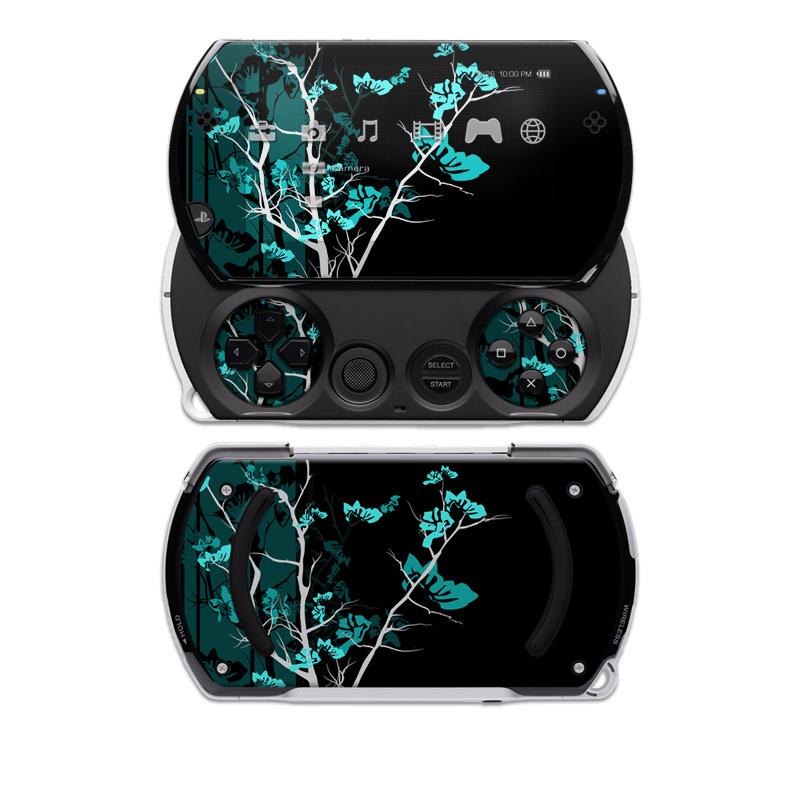Aqua Tranquility Sony PSP go Skin