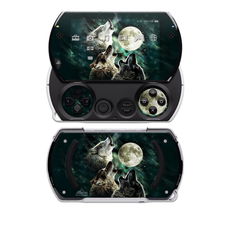 Three Wolf Moon Sony PSP go Skin
