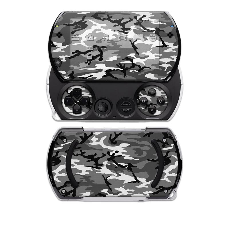 Urban Camo Sony PSP go Skin
