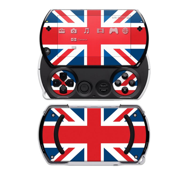 Union Jack PSP go Skin