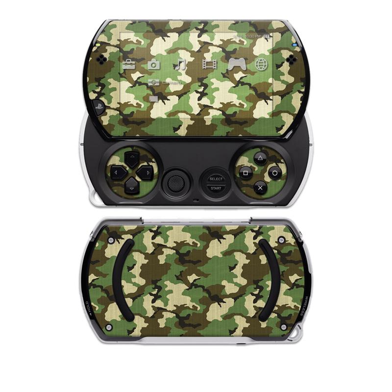 Woodland Camo PSP go Skin