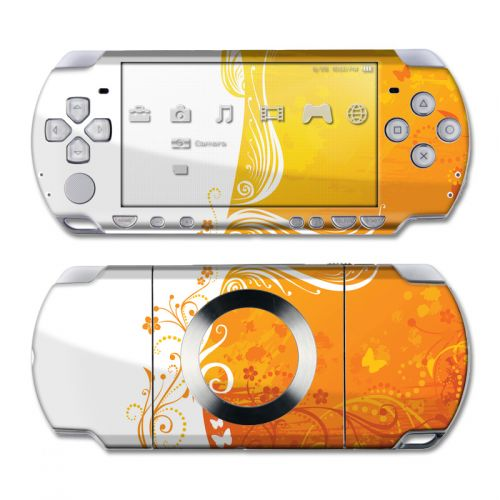 Orange Crush PSP Slim & Lite Skin
