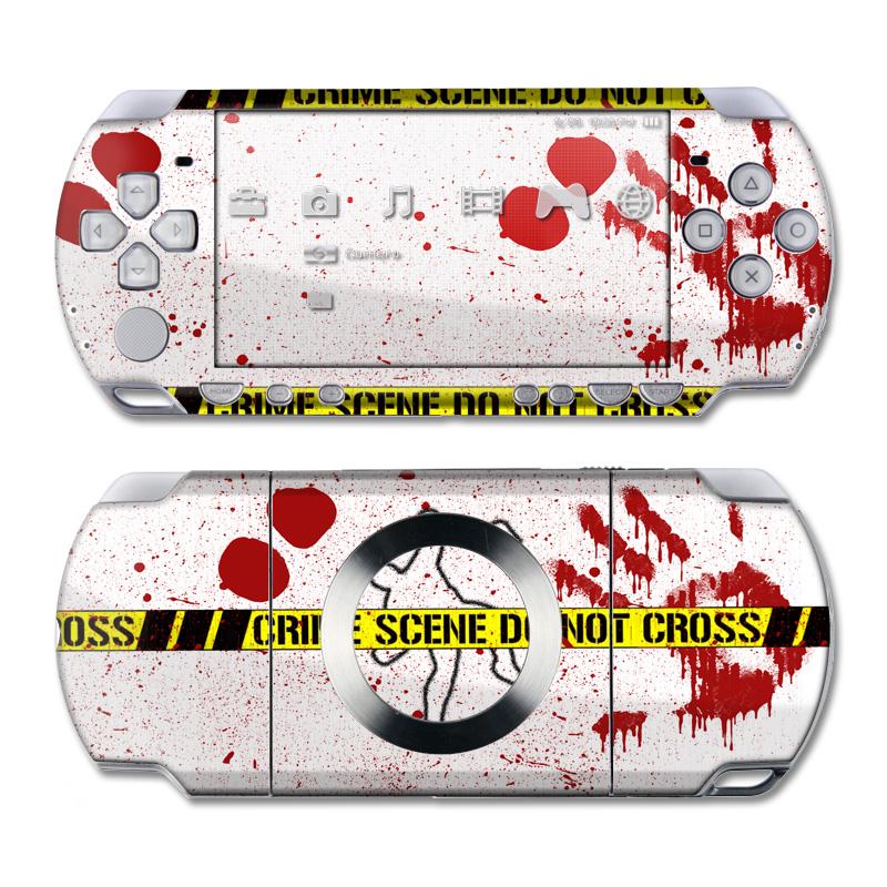 Crime Scene Revisited PSP Slim & Lite Skin