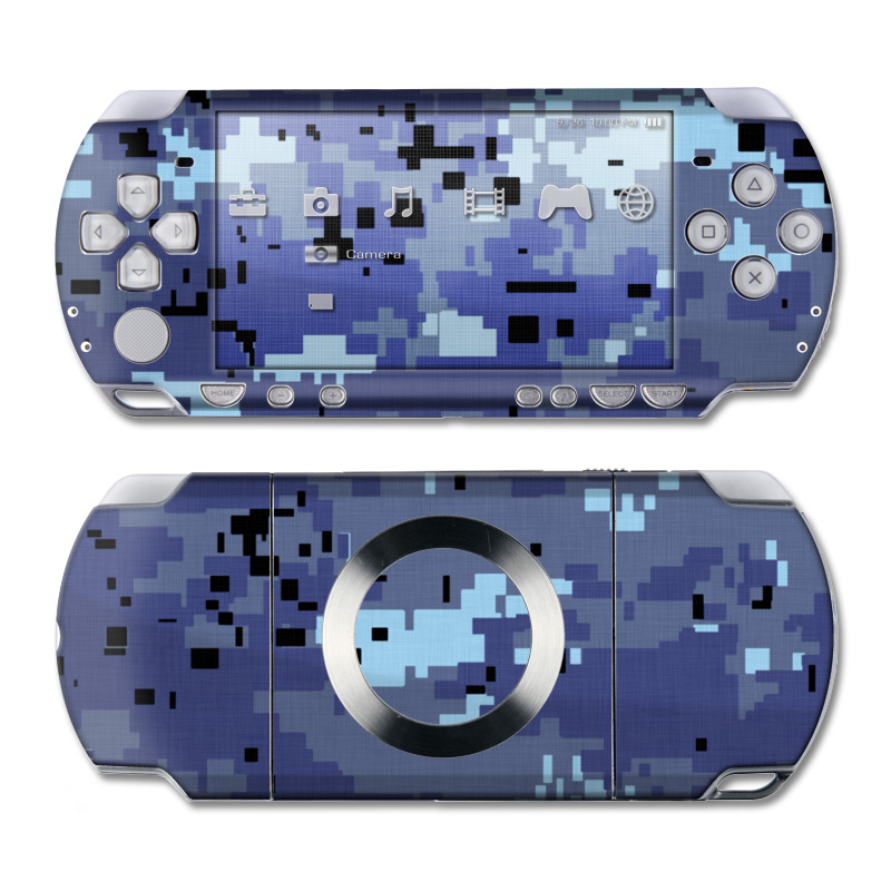Digital Sky Camo PSP Slim & Lite Skin