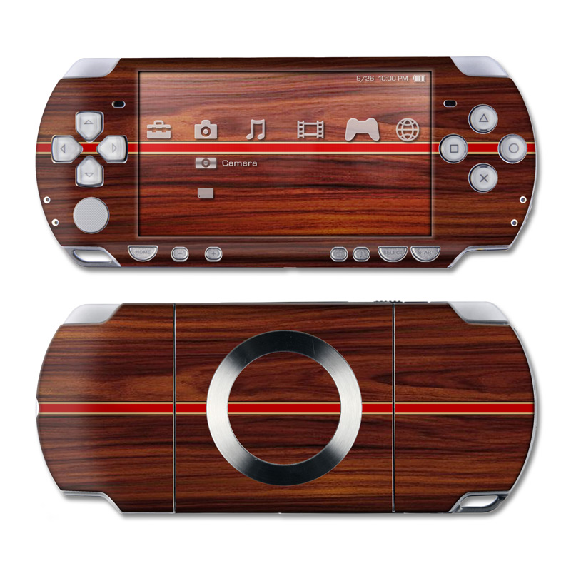 Dark Rosewood PSP Slim & Lite Skin