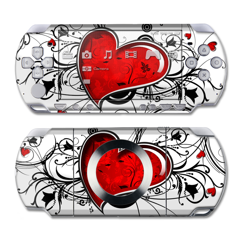 My Heart PSP Slim & Lite Skin