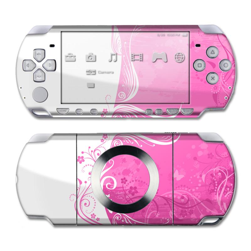 Pink Crush PSP Slim & Lite Skin