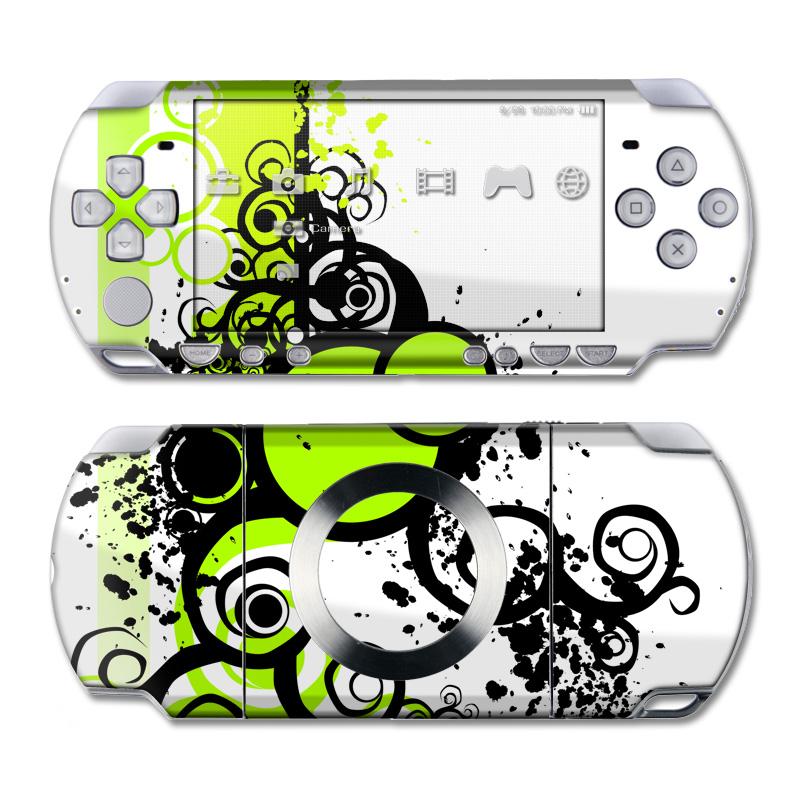 Simply Green PSP Slim & Lite Skin