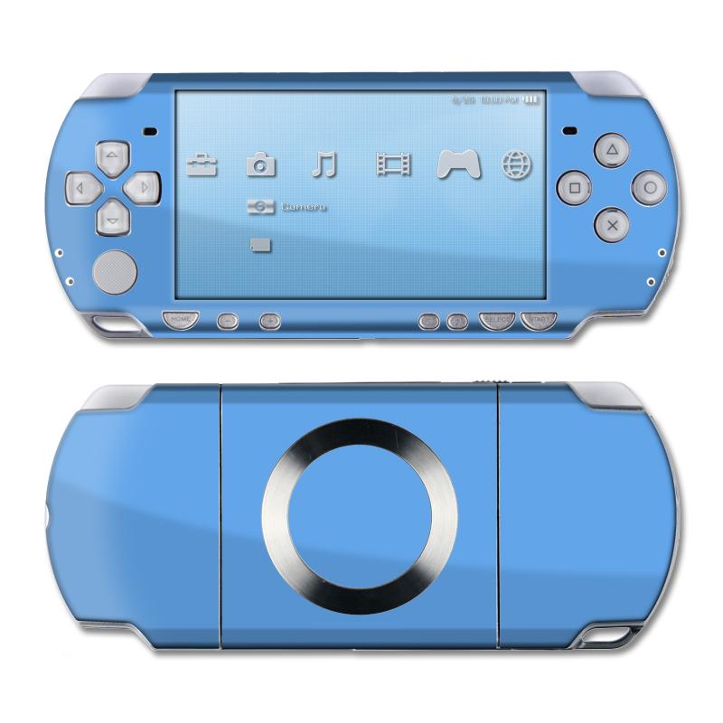 Solid State Blue PSP Slim & Lite Skin