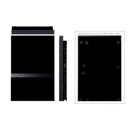 Solid State Black PS2 Skin