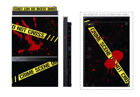 Crime Scene PS2 Skin