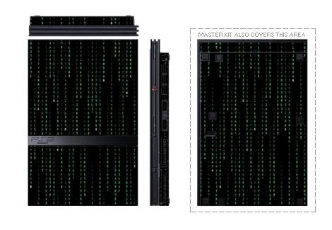 Matrix Code PS2 Skin