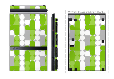Neo Green PS2 Skin