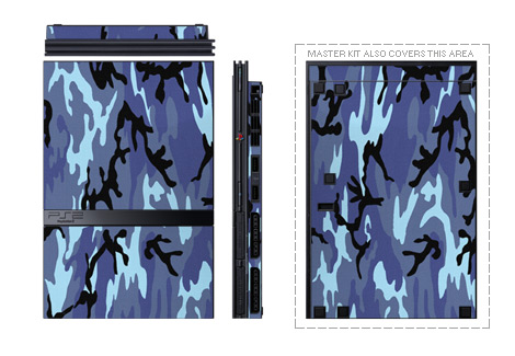 Old PS2 Skin design of Military camouflage, Pattern, Blue, Aqua, Teal, Design, Camouflage, Textile, Uniform with blue, black, gray, purple colors