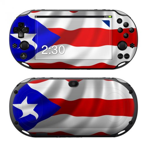Puerto Rican Flag PlayStation Vita 2000 Skin