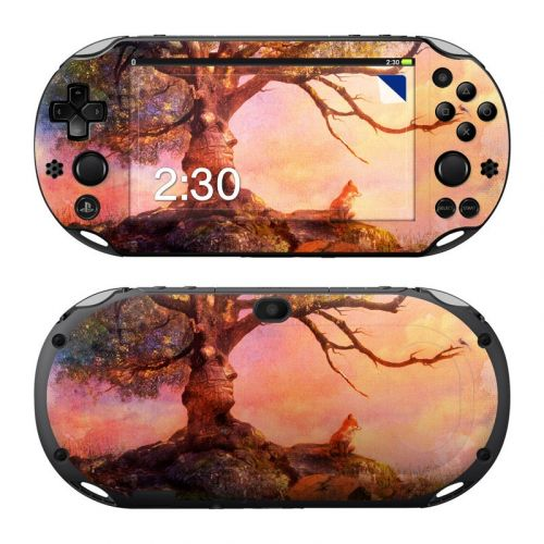 Fox Sunset PlayStation Vita 2000 Skin