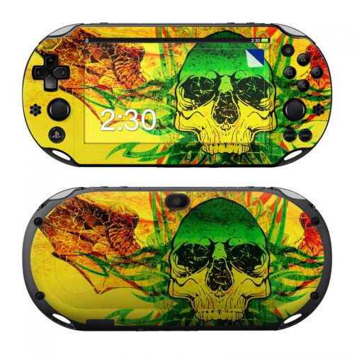 Hot Tribal Skull PlayStation Vita 2000 Skin