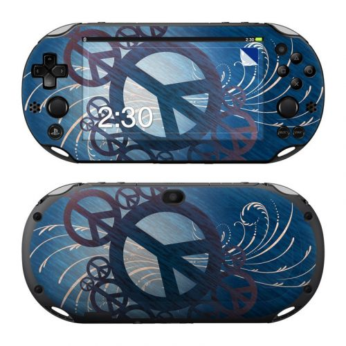 Peace Out PlayStation Vita 2000 Skin