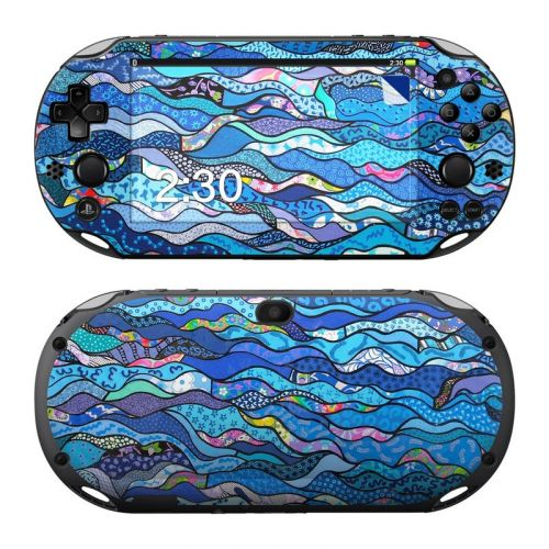 The Blues PlayStation Vita 2000 Skin