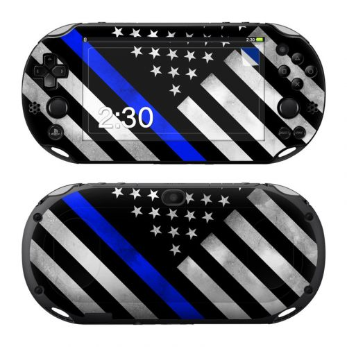 Thin Blue Line Hero PlayStation Vita 2000 Skin