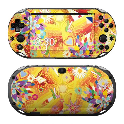 Wall Flower PlayStation Vita 2000 Skin