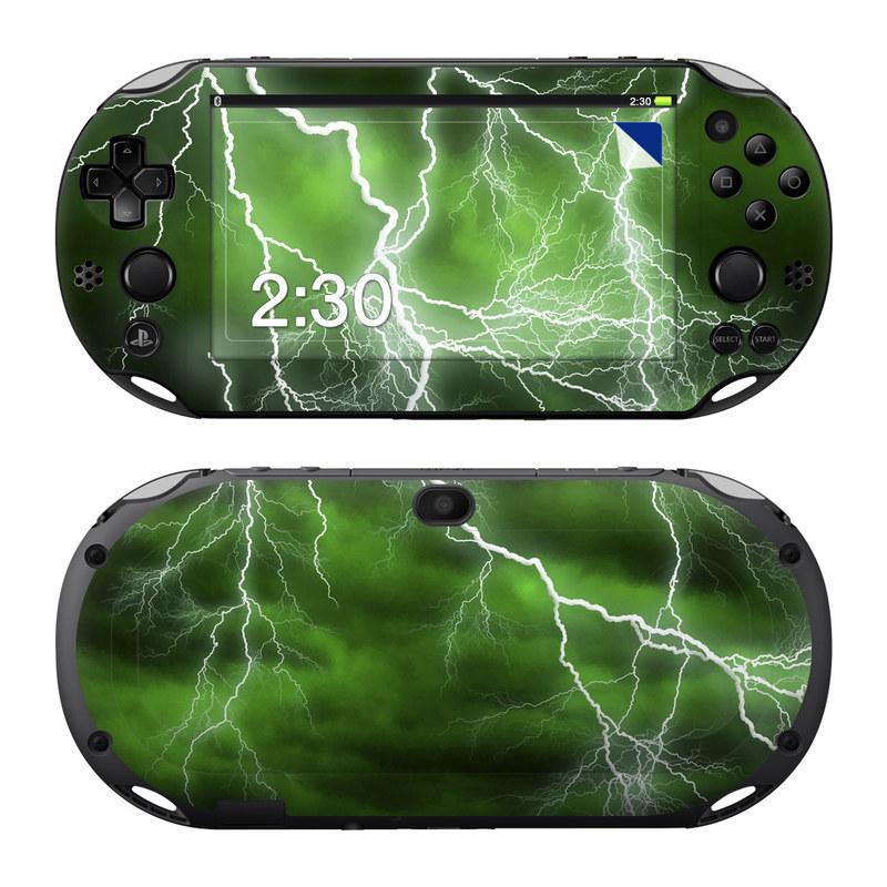 Apocalypse Green PlayStation Vita 2000 Skin