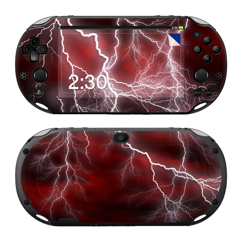 Apocalypse Red PlayStation Vita 2000 Skin