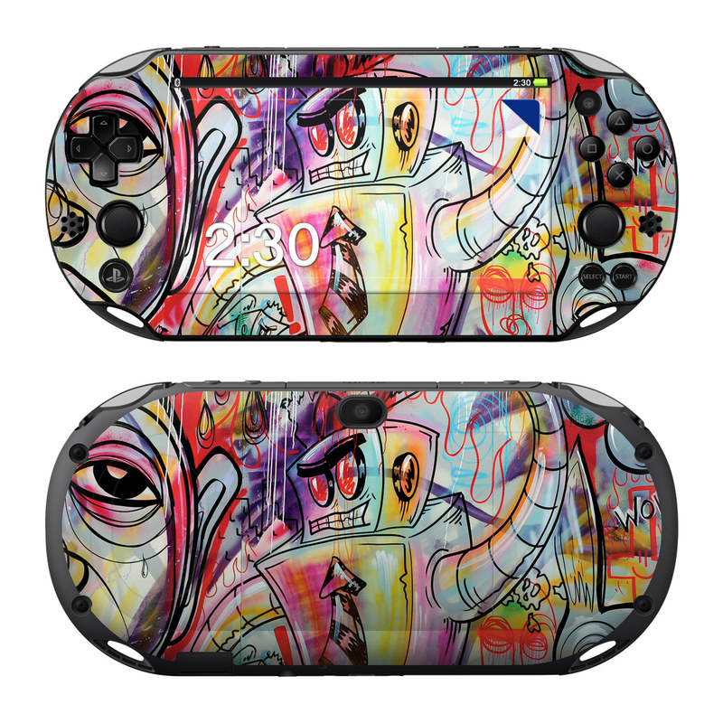 Battery Acid Meltdown PlayStation Vita 2000 Skin
