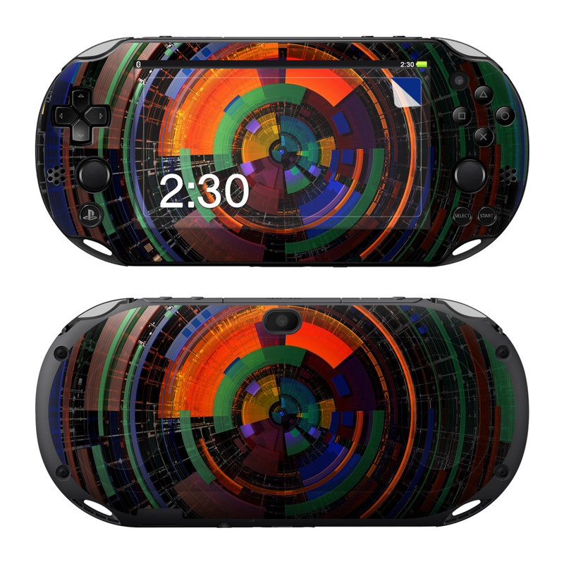 Color Wheel PlayStation Vita 2000 Skin