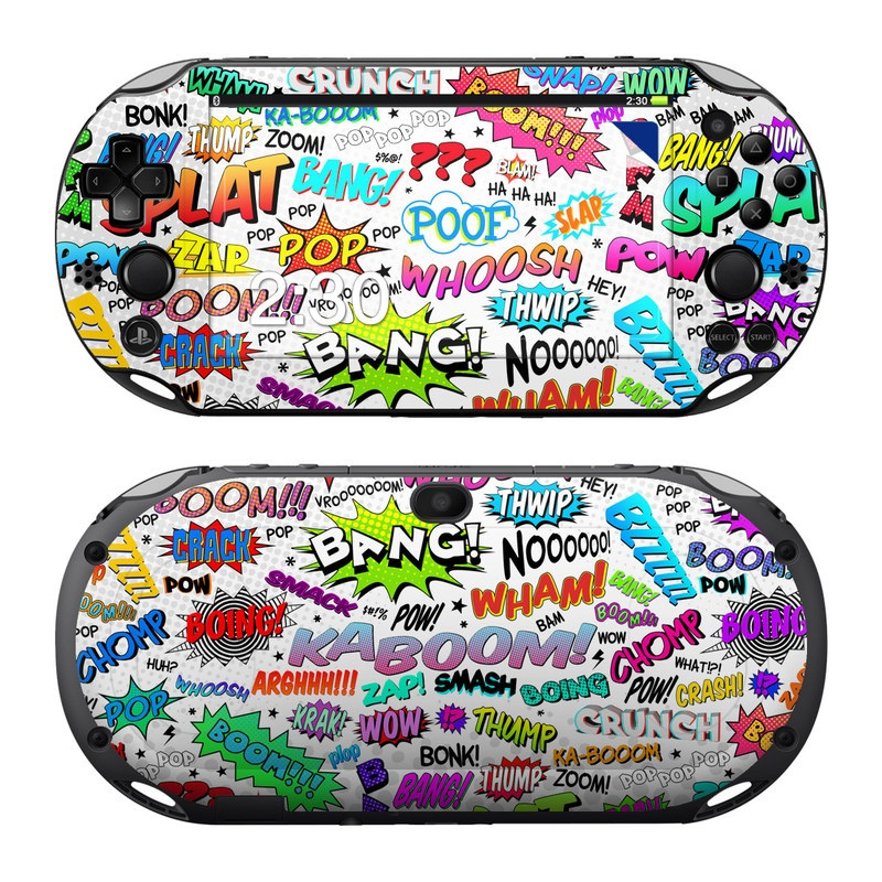 Comics PlayStation Vita 2000 Skin