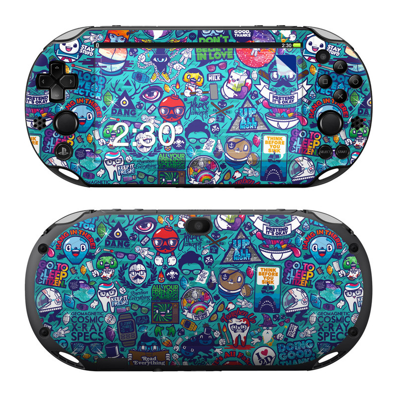 Cosmic Ray PlayStation Vita 2000 Skin