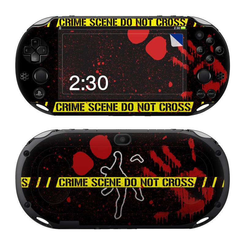 Crime Scene PlayStation Vita 2000 Skin