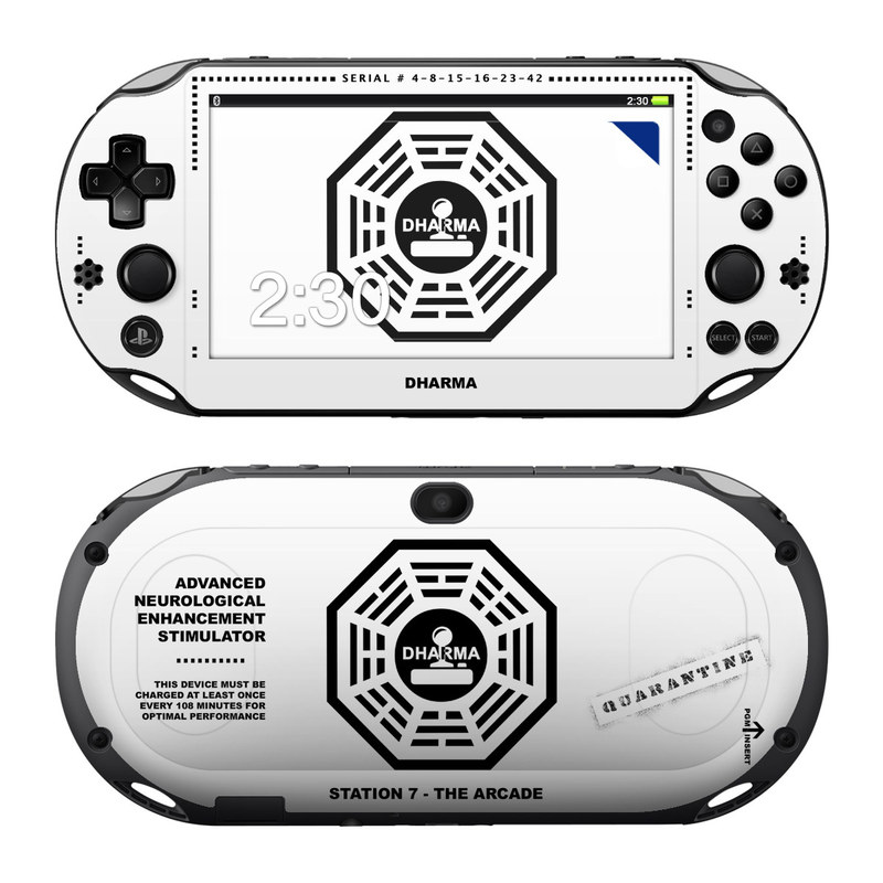 Dharma PlayStation Vita 2000 Skin