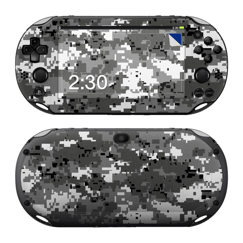 Digital Urban Camo PlayStation Vita 2000 Skin