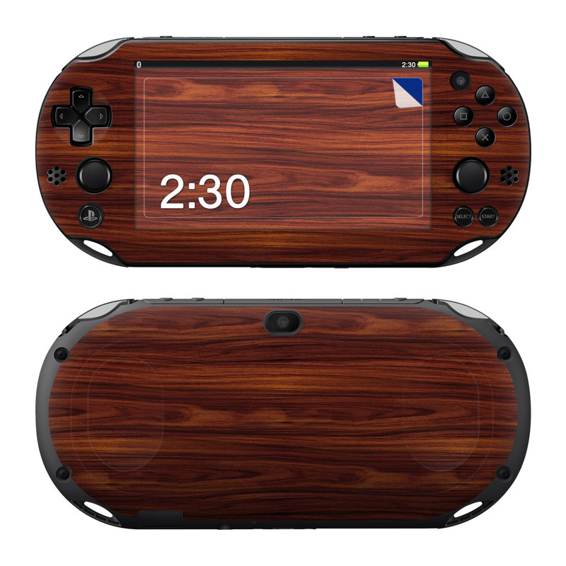 Dark Rosewood PlayStation Vita 2000 Skin