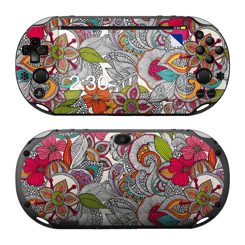 Doodles Color PlayStation Vita 2000 Skin
