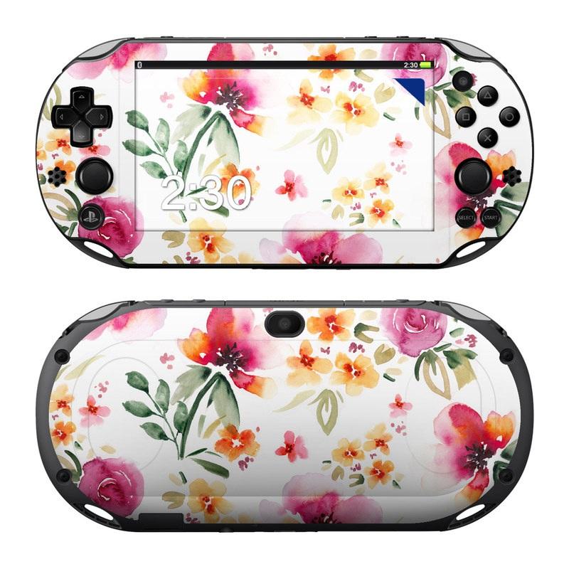 Fresh Flowers PlayStation Vita 2000 Skin