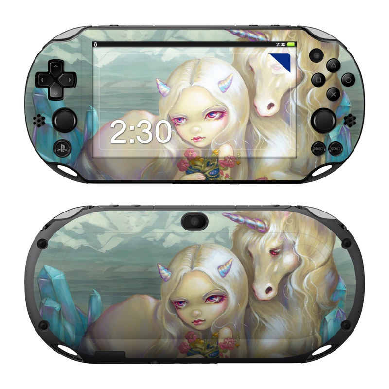 Fiona Unicorn PlayStation Vita 2000 Skin