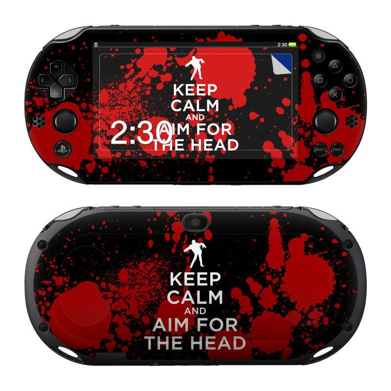 Keep Calm - Zombie PlayStation Vita 2000 Skin