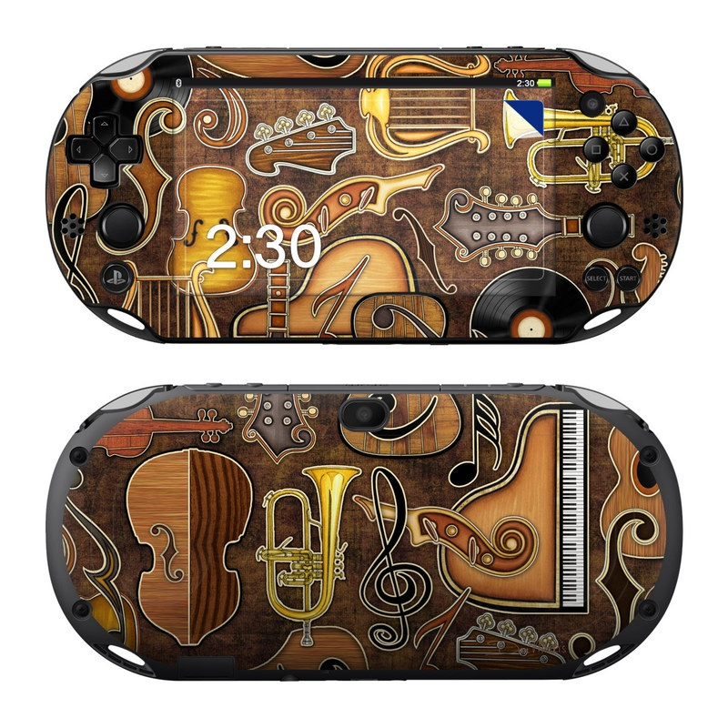Music Elements PlayStation Vita 2000 Skin