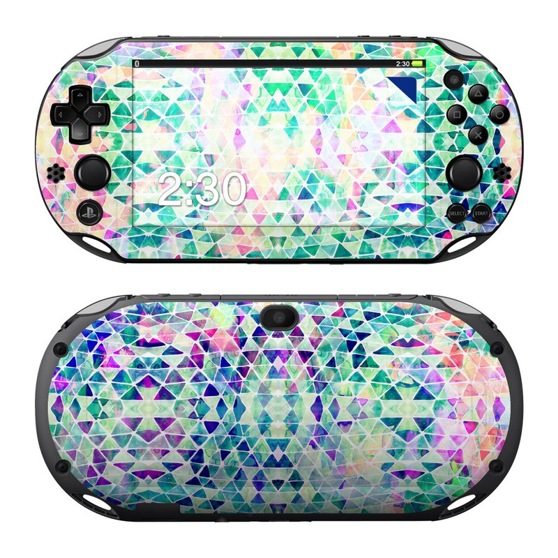 Pastel Triangle PlayStation Vita 2000 Skin
