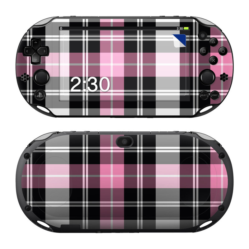 Pink Plaid PlayStation Vita 2000 Skin