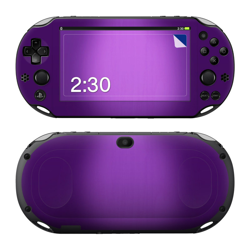Purple Burst PlayStation Vita 2000 Skin